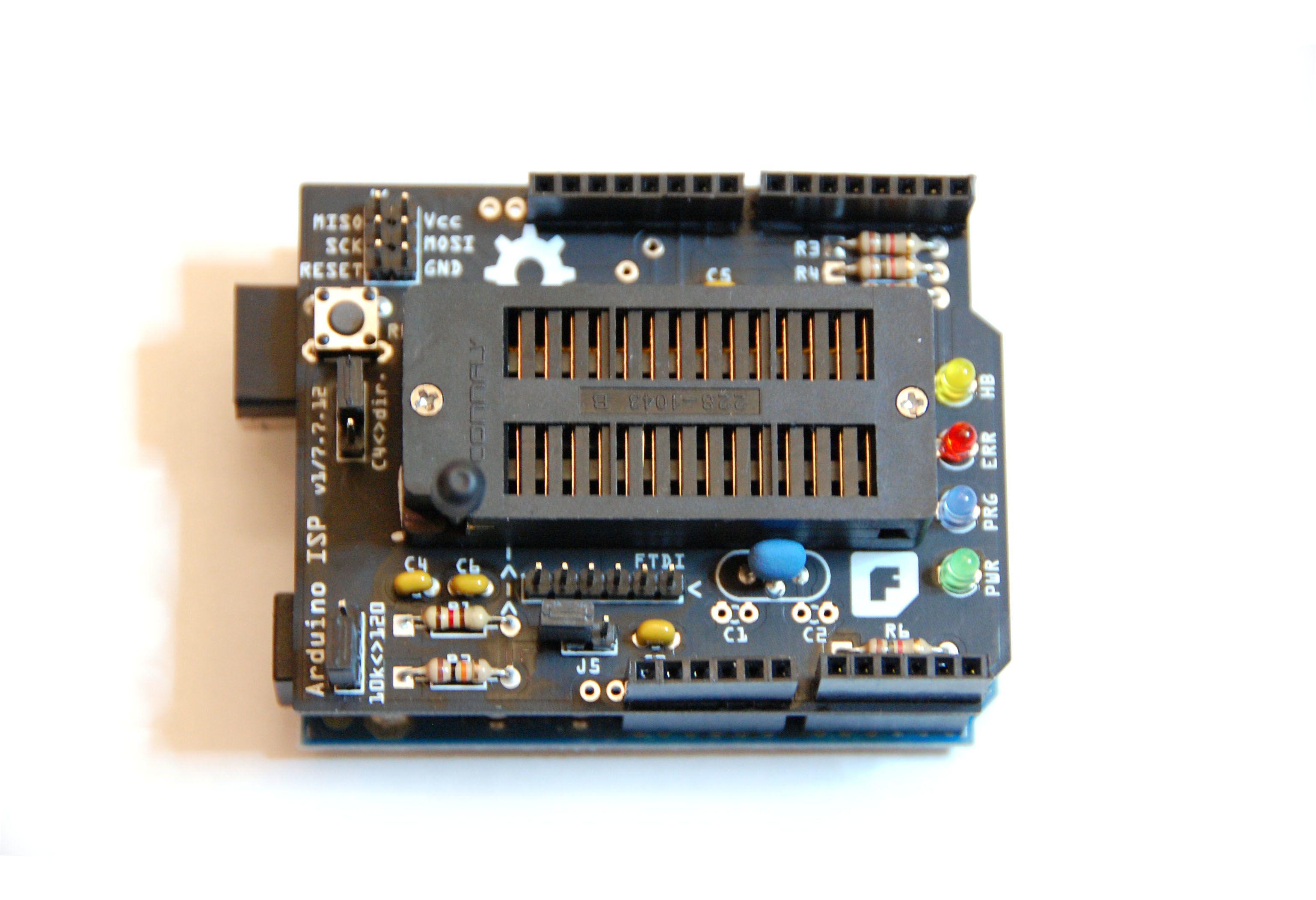 Christians Bastel Laden Benutzungsanleitung Fr Den Arduino Isp Avr In System Programmer Benutzung Des Konfiguration